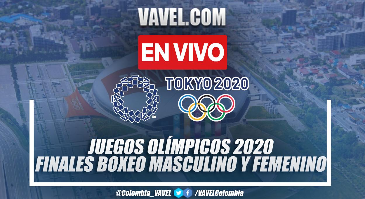 Resumen: Finales de Boxeo 48-52 kg, 48-51kg, 69-75kg y 64-69kg en Tokio 2020