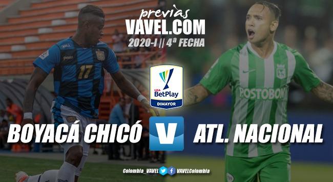 Previa Boyacá Chicó vs. Atlético Nacional: por los tres puntos - VAVEL Colombia