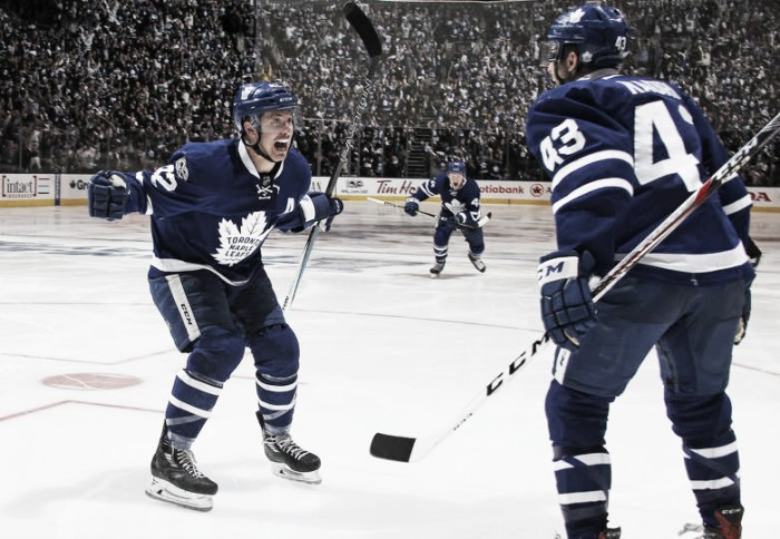 Toronto Maple Leafs take series lead with another overtime win