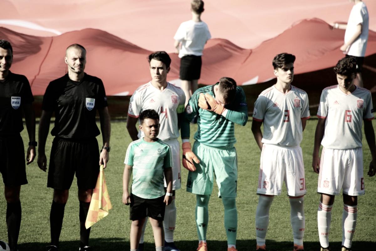 Resumen Holanda vs España en Europeo sub-17 (2-0)