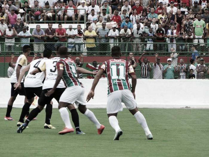 Em jogo de cinco gols, Voltaço bate Flu de Feira e encaminha acesso à Série C do Brasileirão