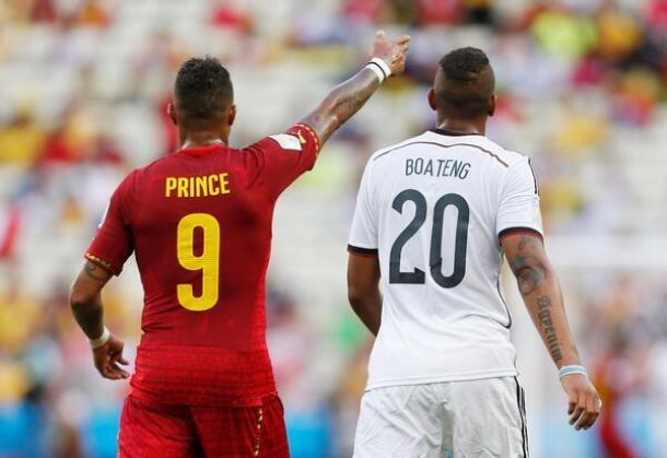 Allemagne et Ghana dos à dos