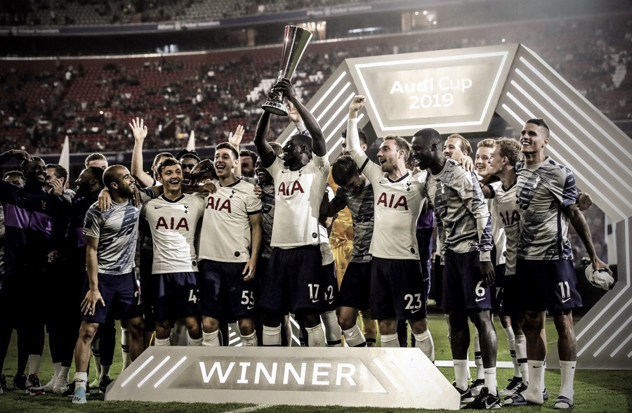 Tottenham se proclama monarca de la Audi Cup