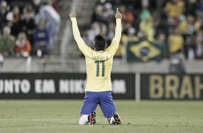 """Sobre jogadores da Seleção Olímpica, Dunga afirma: """"Estão correspondendo à expectativa"""""""