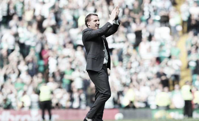 Rodgers elogia atuação do Celtic na vitória sobre Rangers e cita ídolo Jock Stein