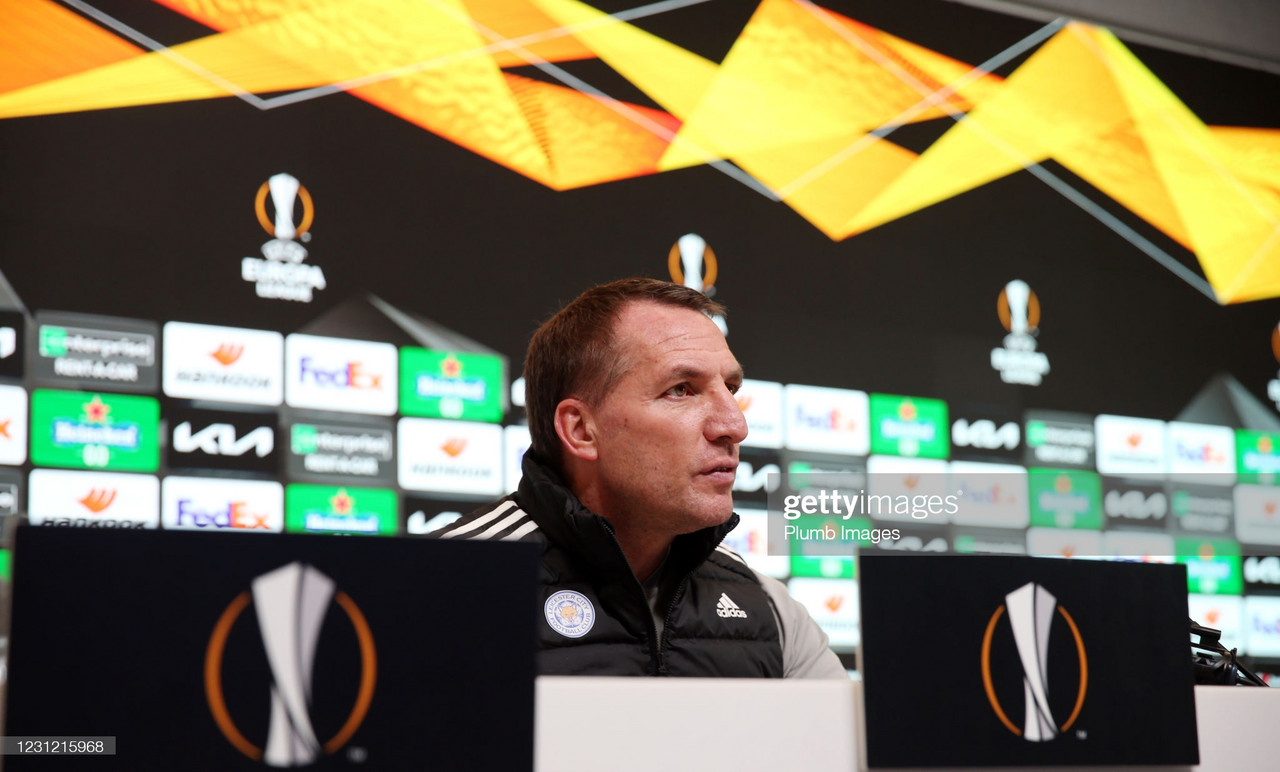 The key quotes from Brendan Rodgers' pre-match Slavia Prague press conference