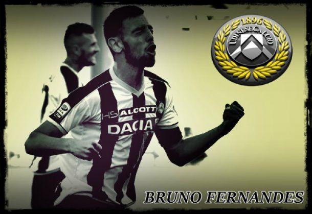 Bruno Fernandes continua a marcar a diferença na Udinese