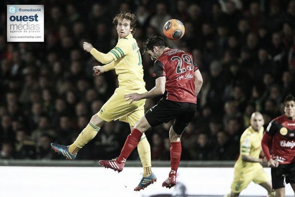 Guingamp retrouve la victoire et assomme Nantes