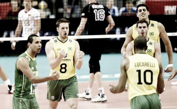 Em busca do tetra, Brasil estreia no Mundial com vitória tranquila em cima da Alemanha