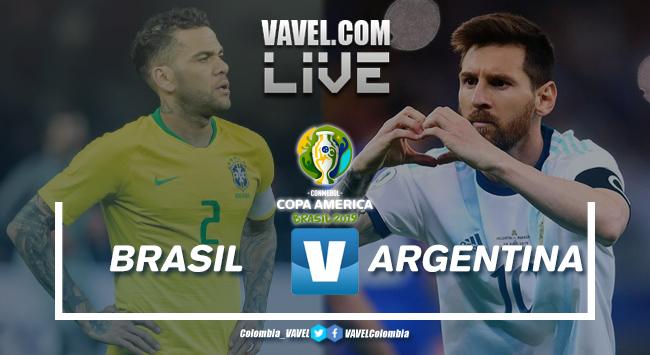 Resumen Brasil vs Argentina por la semifinal Copa América 2019(2-0)