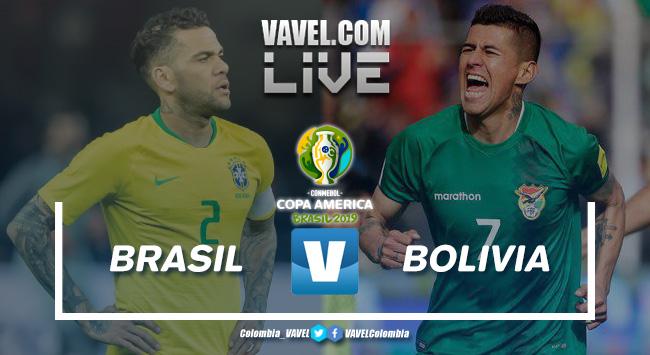 Resumen Brasil vs Bolivia por la Copa América 2019 (3-0)