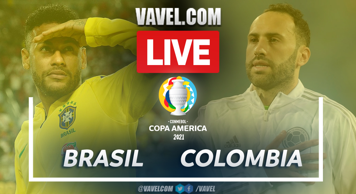 Goals and Highlights: Brazil 2-1 Colombia in Copa América