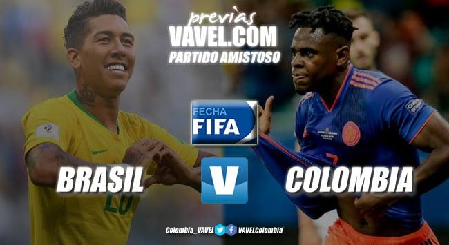 Previa Brasil vs. Colombia: un amistoso que trae recuerdos
