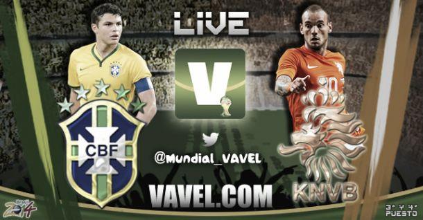 Copa do Mundo Brasil 2014: Resultado Brasil e Holanda