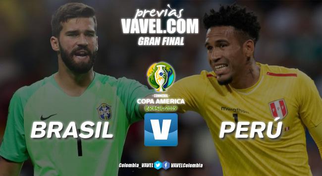 Previa Brasil vs Perú: los 'incas' retarán a los brasileros por el título