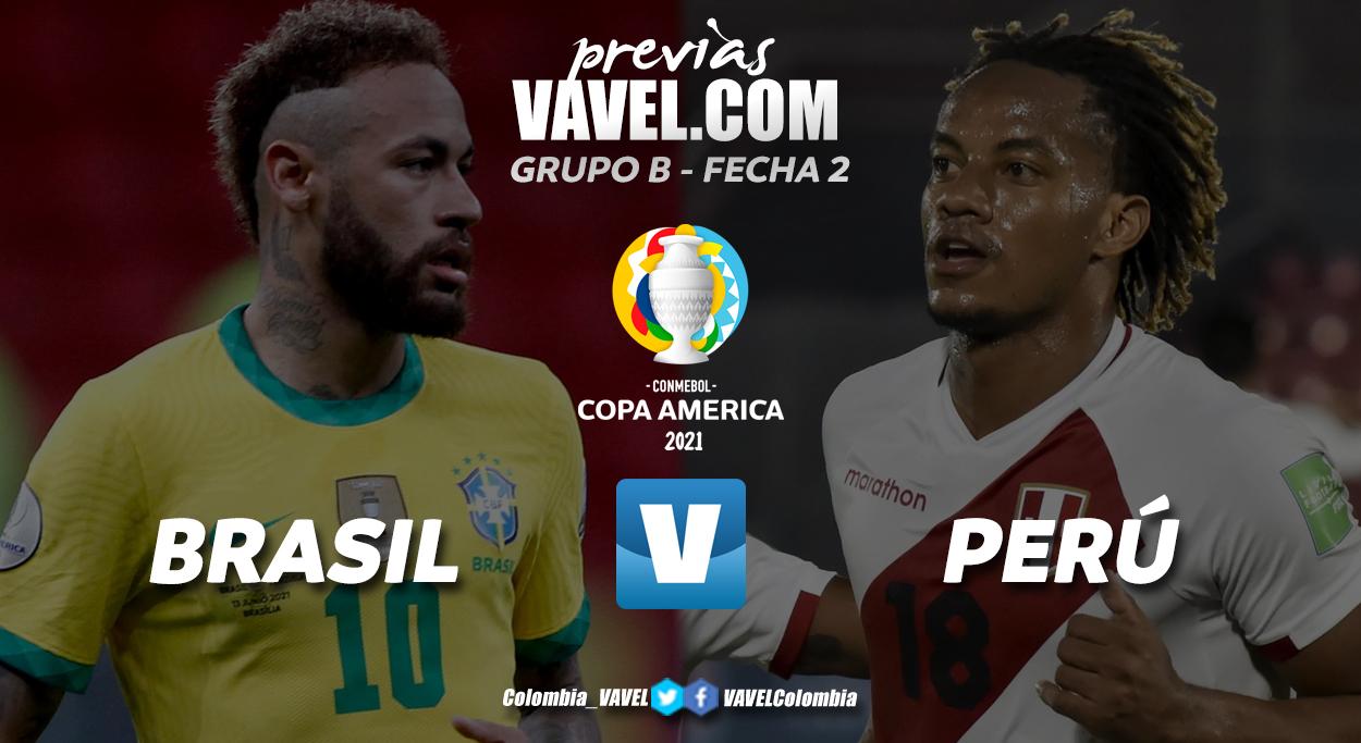 Previa Brasil vs Perú: reedición de la última final de la Copa América
