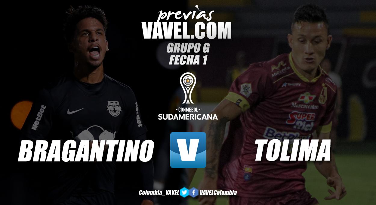 Previa RB Bragantino vs Deportes Tolima: inicia el camino por la otra mitad de la gloria