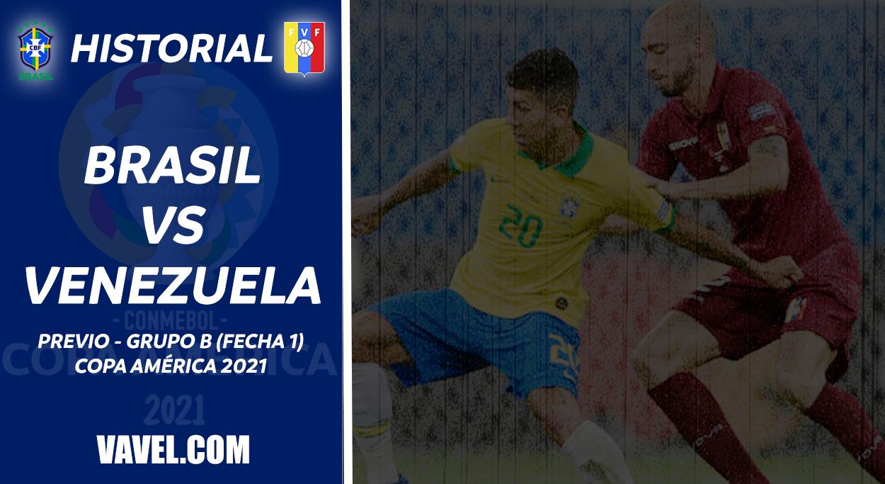 Historial Brasil vs Venezuela: la 'verdeamarela' comanda el registro en Copa América