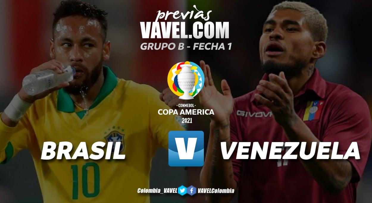 Previa Brasil vs Venezuela: el duelo inaugural