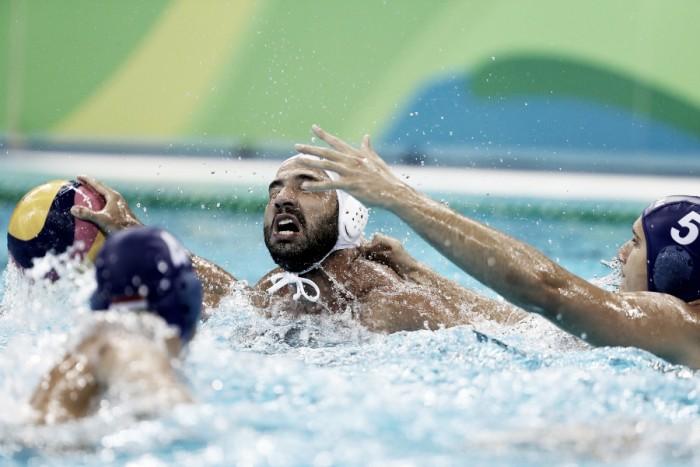 Brasil perde para a Croácia no Polo Aquático Masculino e deixa disputa por medalhas