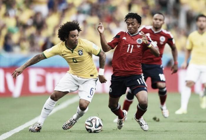 Brasil e Colômbia se enfrentam por lugar na zona de classificação das Eliminatórias