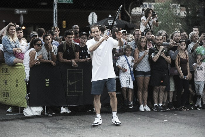 Pete Sampras discusses coaching younger players, not having a 'supercoach'