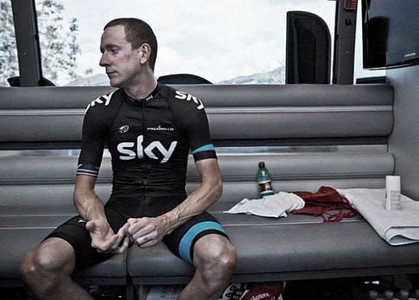 Wiggins frustrado com a Sky falha Tour de France