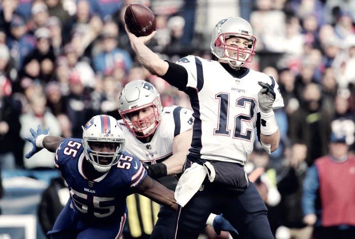 Brady domina a los Bills