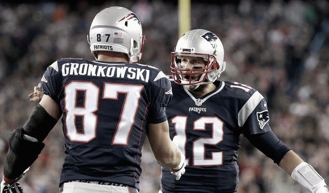 """Brady y """"Gronk"""": el dúo que dominó una década"""