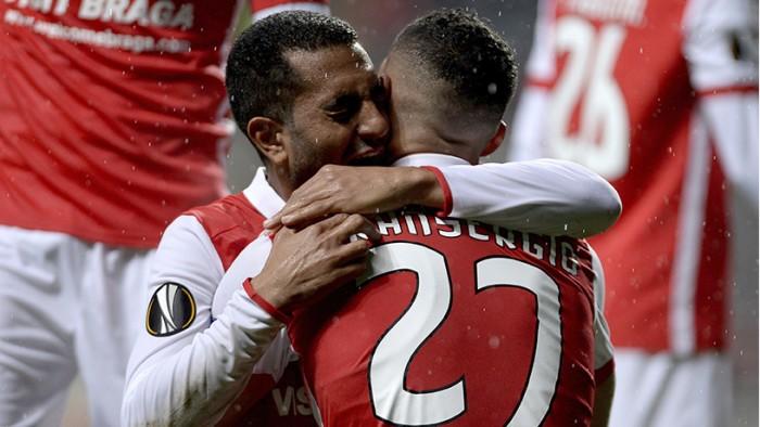 Liga Europa: Braga vence e passa à próxima fase