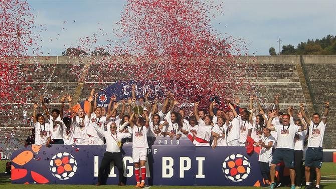 Braga sagra-se campeão nacional de Futebol Feminino