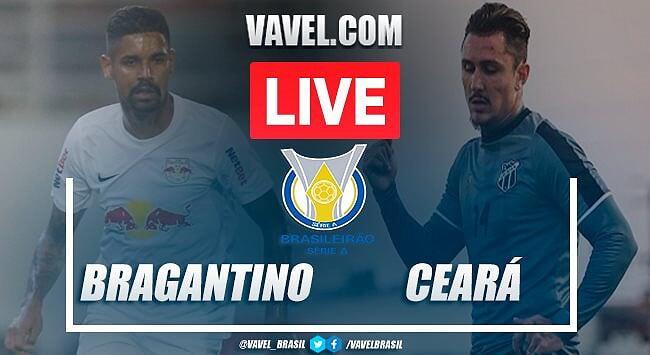 RB Bragantino x Ceará AO VIVO: jogo em tempo real pelo Campeonato Brasileiro 2020