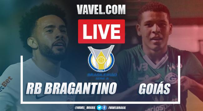 Gols e melhores momentos de Bragantino 2 x 0 Goiás pelo Brasileirão
