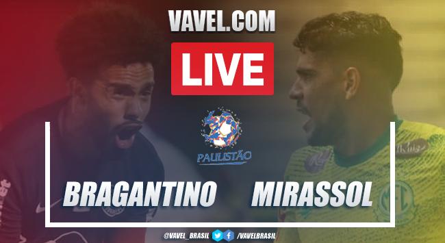 Gols e melhores momentos Bragantino 2 x 1 Mirassol pelo Campeonato Paulista