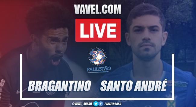 Gols e melhores momentos para RB Bragantino 2x1 Santos André pelo Campeonato Paulista