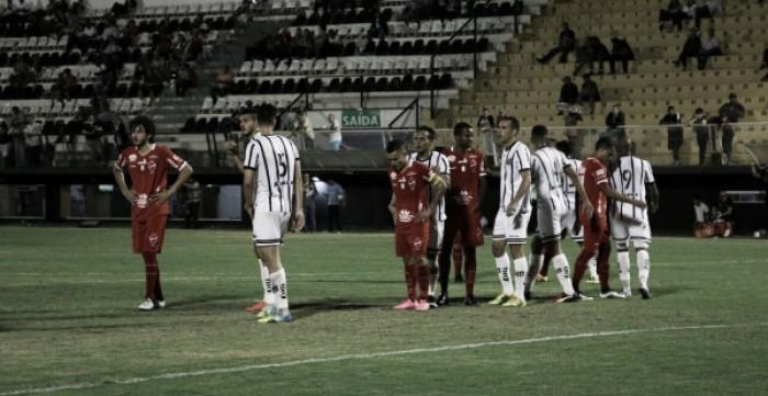Em partida movimentada, Bragantino fica no empate com Vila Nova e segue beirando Z-4