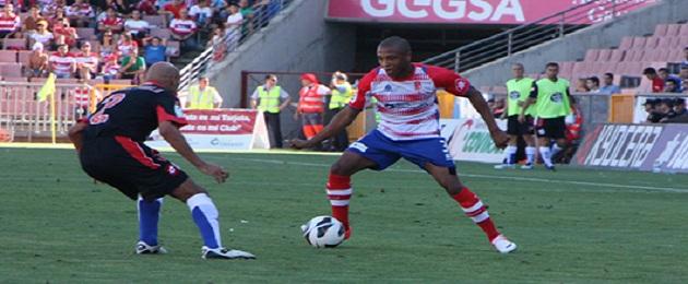 Brahimi fue el jugador más destacado del Granada CF ante el Depor