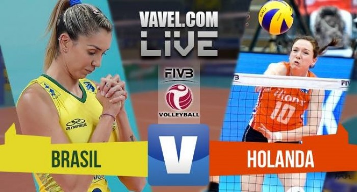 Brasil x Holanda pelo Grand Prix de Vôlei 2016 (3-0)