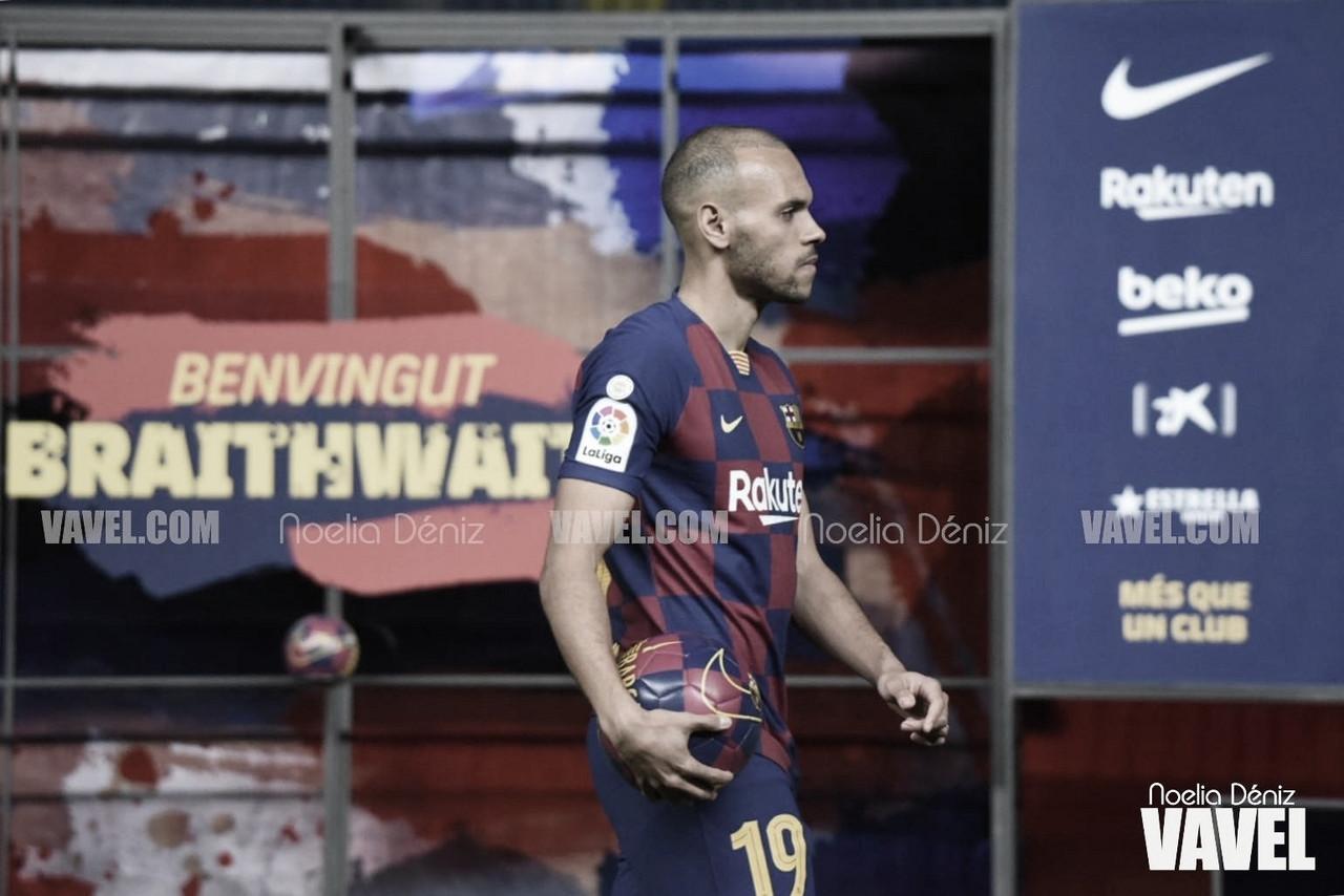 """Braithwaite: """"Echo de menos estar sobre el césped y sentirme futbolista"""""""