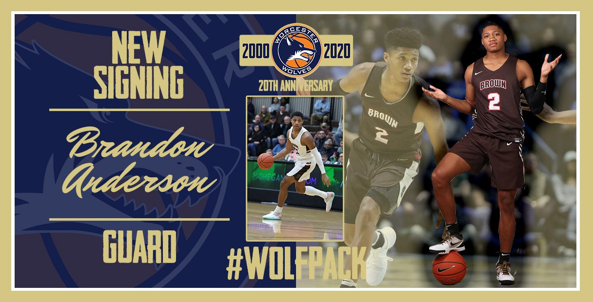 Worcester Wolves sign Rookie Brandon Anderson