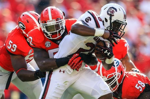 South Carolina S Georgia Bulldogs Score And Result Of 2017 College Football