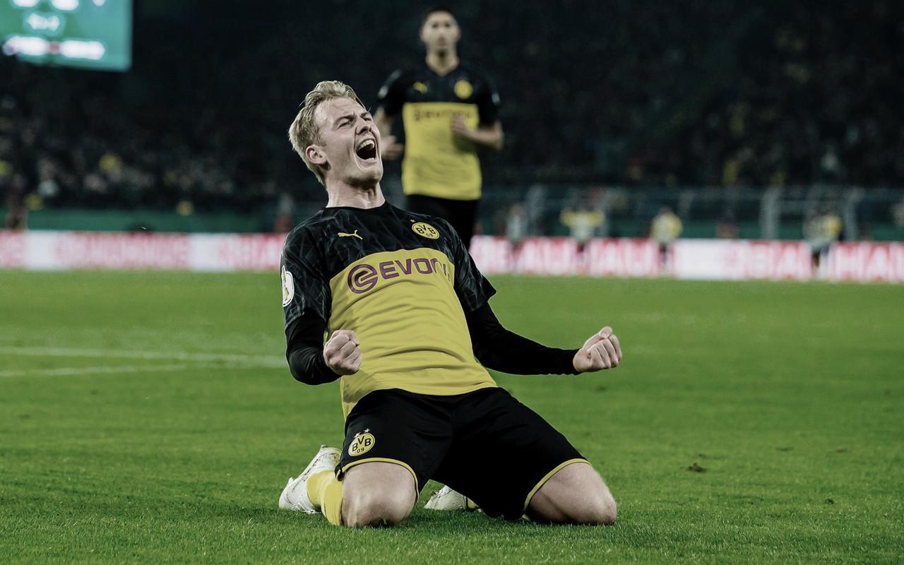 Brandt resolvió el 'Borussen Derby' copero
