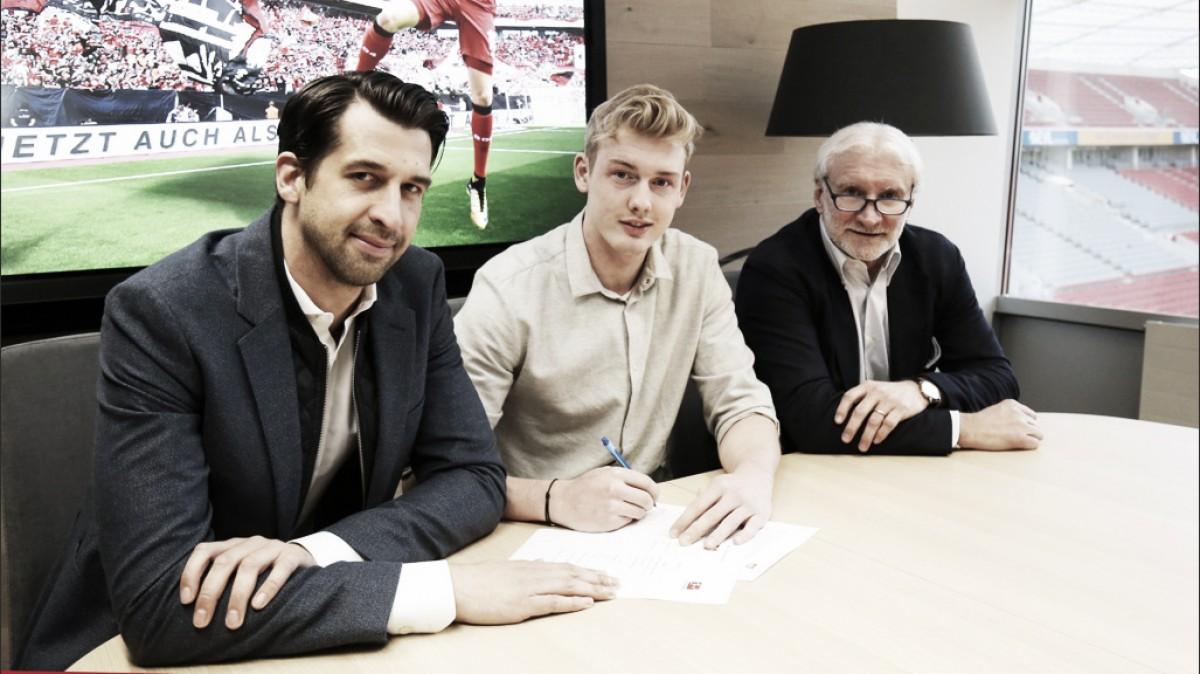 Brandt renueva con el Bayer Leverkusen
