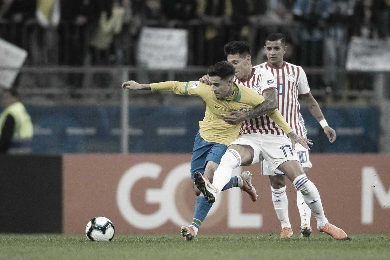 Brasil pressiona Paraguai na base do abafa e problemas de criação persistem