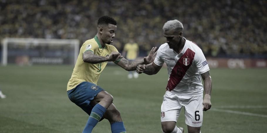 No reencontro após goleada na fase de grupos, Brasil e Peru fazem final inédita da Copa América