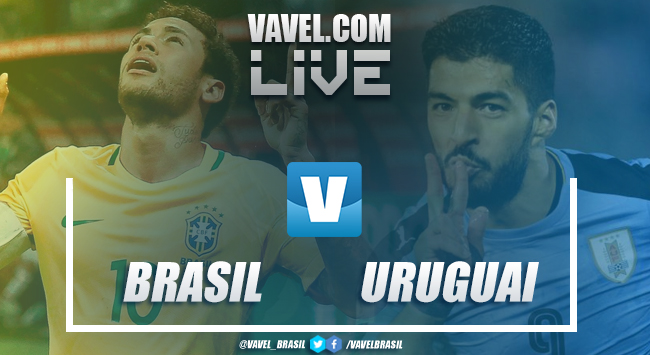 Resultado Brasil x Uruguai no Amistoso Internacional 2018 (1-0)