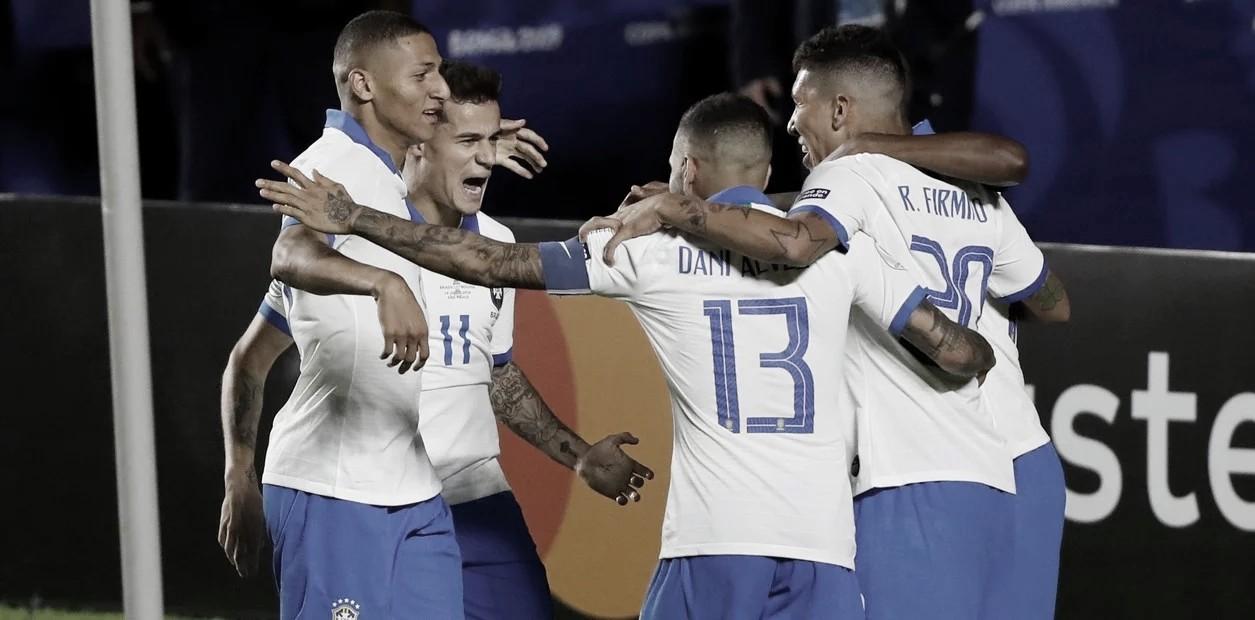 Brasil goleó por 3-0 a Bolivia