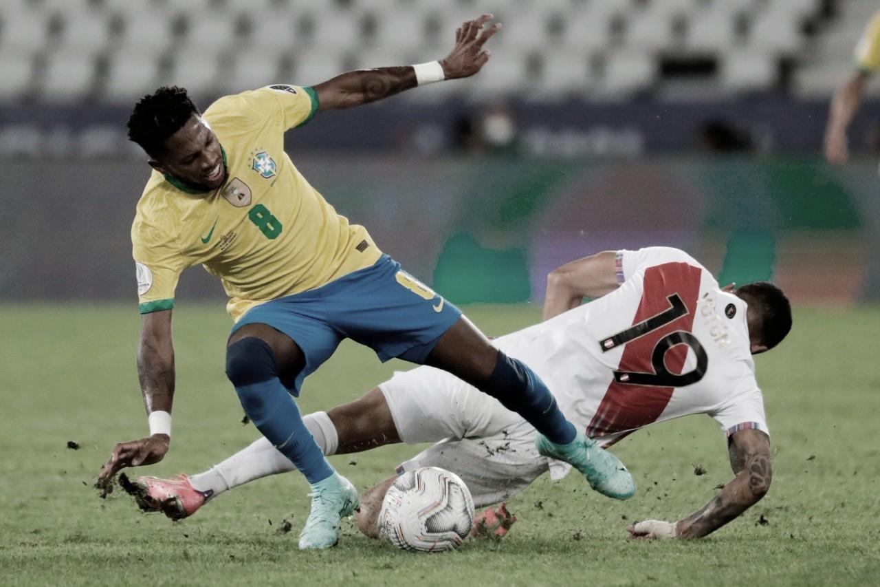 Brasil e Peru se reencontram na semifinal da Copa América