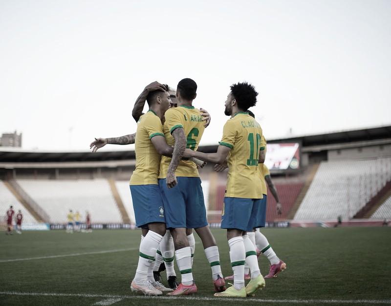 Gols e Melhores Momentos de Brasil 5-2 Emirados Árabes Unidos