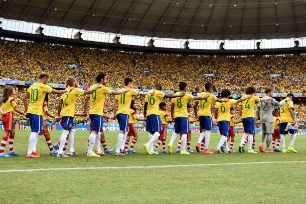Brasil - México: puntuaciones de Brasil, jornada 2, grupo A